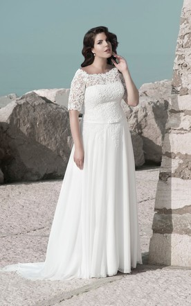 Modest Plus Size Bridal Gowns