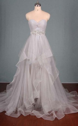 Lace Up Prom Dress Corset Formal Gowns June Bridals