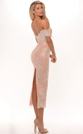 Vintage Tea Prom Gowns, Mid Length Formal Dresses - June Bridals