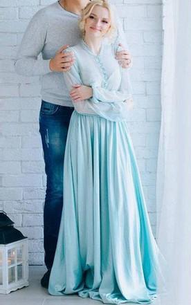 Tiffany Blue & Aqua Bridesmaid Dress - June Bridals