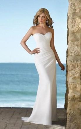 Trendy Flowy Silk Style Wedding Dresses On Sale - June Bridals