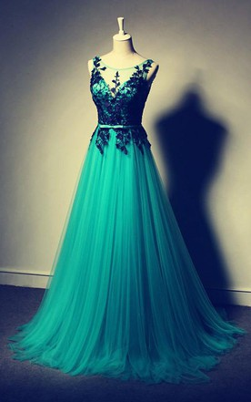 Teal Color Wedding Dress, Teal Blue Bridal Dresses - June Bridals