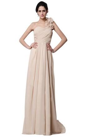 Champagne prom dress colors