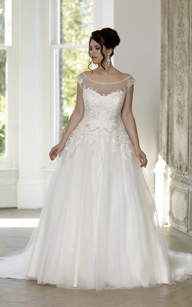 Plus Size Ball Gown Wedding Dresses - June Bridals