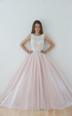 Light pink wedding dress pale pink wedding dress june bridals a line scoop sleeveless muti color dress with bow and deep v back junglespirit Gallery