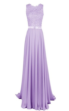 Cheap Purple & Lavender Bridesmaid Dress - June Bridals