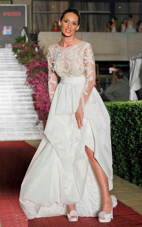 24f9a7abb Prom Dress With Short/Long Sleeves | Sleeved Formal Dresses - June ...