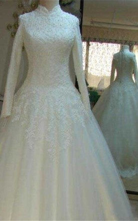 Modest Style Wedding Dress Cheap, Affordable Conservative Bridals ...