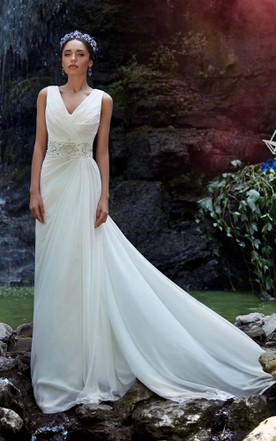 Simple Style White Color Wedding Gowns | Simple Bridal Dresses ...