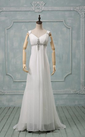Empire Style Wedding Dresses, Empire Waist Bridal Gowns - June Bridals