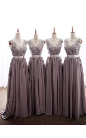 Cheap Bridesmaid Dresses Same Color Different Style - June Bridals