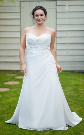 Cheap wedding dresses plus size under 100