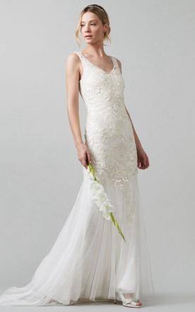 Flapper Gatsby Wedding Dresses, Gatsby Vintage Bridals Dress - June ...