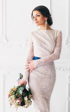 Long Lace Wedding Magnolia Weddig Dress