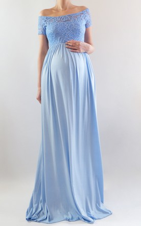 Maternity Bridesmaid Gowns, Pregnant & Nursing Dresses for ...