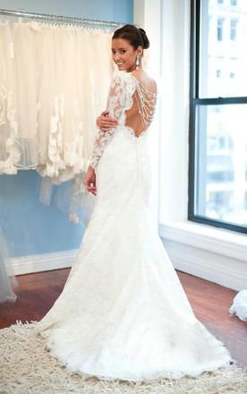 Elegant wedding dresses for women over 40