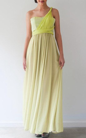 Multi Ways Gown With Bodice Only Dress