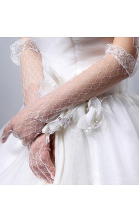 Lace Thin Gloves