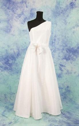 Single Shoulder Wedding Dresses - June Bridals