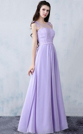 Purple Lace Bridesmaid Long Prom Evening Evening Gown Wedding Dress ...