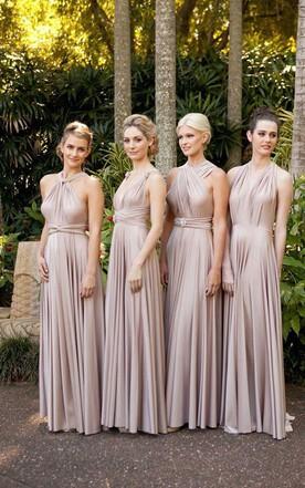 Convertible Bridesmaid Gowns | Muti-Way Dresses For Bridesmaid ...