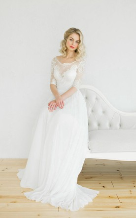 Modest Vintage Wedding Dresses - June Bridals
