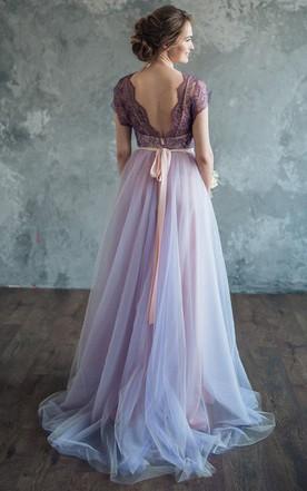 Lilac Wedding Serenity Dress
