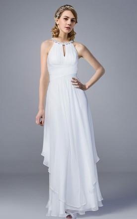 Cotton Fabric Wedding Dresses, Cotton Bridals Dress - June Bridals