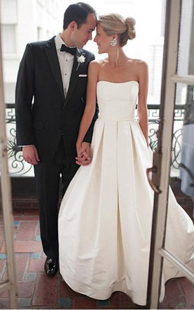 Modern Style Wedding Dress - June Bridals