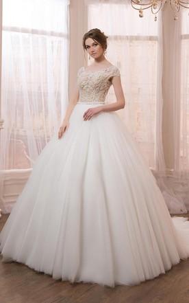 Cheap ball gown wedding dresses