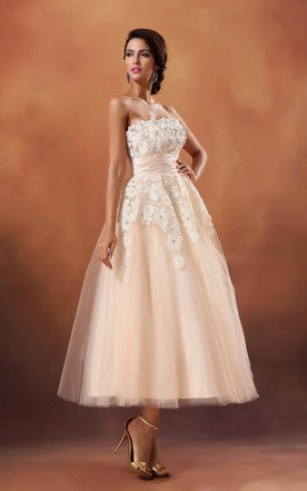Coral Wedding Dresses | Orange Wedding Dresses - June Bridals