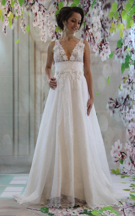 Empire Style Wedding Dress
