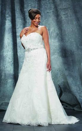 Wedding dresses under 200 plus size