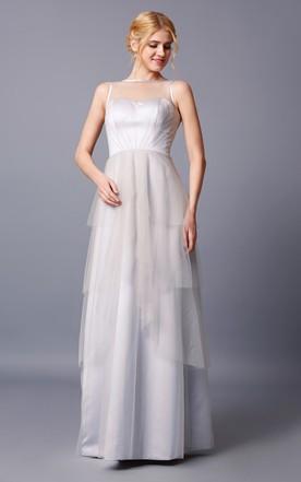 Silver Grey Bridesmaid Dresses | Grey Prom Dresses - June Bridals