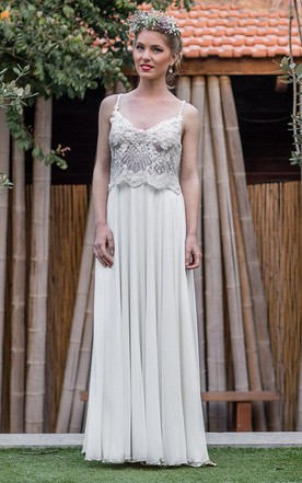 Trendy Flowy Silk Style Wedding Dresses On Sale - June Bridals