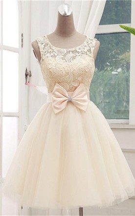 Beige Color Prom Dress, A Pale Brown Colour formal Dresses - June ...