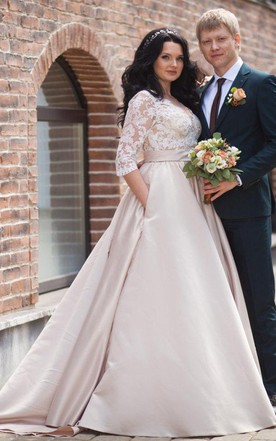 Long Sleeved Wedding Gowns Bridals Dress With Sleeves June Bridals