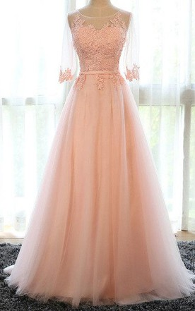 Light Peach Bridesmaid Dresses | Blush Bridesmaid Dresses - June Bridals