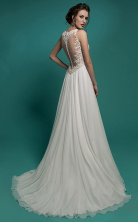 Full Length Wedding Dresses, Maxi Bridals Dress - June Bridals
