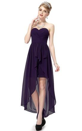 Dark Purple Prom Dresses | Plum Prom Dresses - June Bridals