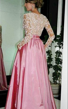 Long Sleeve Elegant Dresses