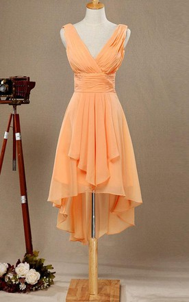 7c6546ed319f Peach & Apricot Bridesmaids Dresses | Bridesmaid Dress By Color ...