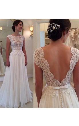 Open Back Wedding Gowns | Backless Bridal Dresses - June Bridals