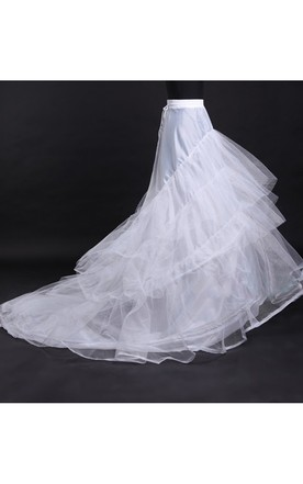 077179620e Super Large Fluffy Wedding Dress Rims Skirts Boneless Multi-layer Trailing  Skirt Petticoat