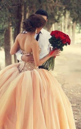 Peach Wedding Dress | Blush Wedding Dresses - June Bridals