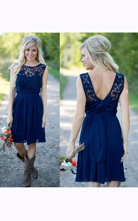 0468ee120 Country & Rustic Bridesmaids Dresses, Western Style Dress for ...