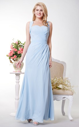 Pale Blue Bridesmaid Dresses | Light Blue Prom Dresses - June Bridals