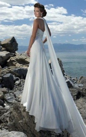 Cheap Empire Waist Beach Wedding Dresses in Style - June Bridals