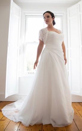 Chiffon Bridal Dresses, Grecian Wedding Gown - June Bridals