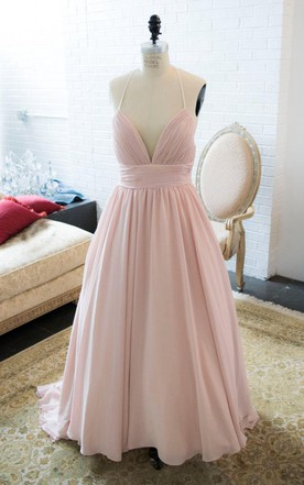 Light pink wedding dress pale pink wedding dress june bridals chiffon tulle lace satin weddig dress junglespirit Images